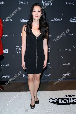 """Olivia Cheng arrives at the 3rd Annual """"An Evening With Canada's Stars"""" the Four Seasons Hotel, in Beverly Hills, Calif"""