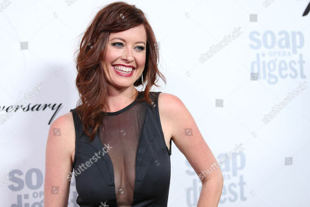 Stock Picture of Melissa Archer arrives at the 40th Anniversary of Soap Opera Digest at The Argyle Hollywood, in Los Angeles