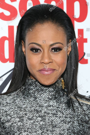 Vinessa Antoine arrives at the 40th Anniversary of Soap Opera Digest at The Argyle Hollywood, in Los Angeles