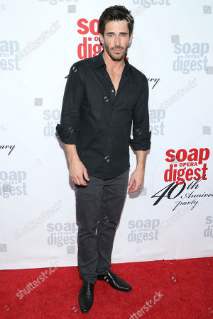 Brandon Beemer arrives at the 40th Anniversary of Soap Opera Digest at The Argyle Hollywood, in Los Angeles