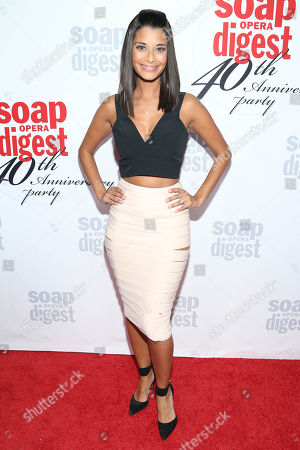 Stock Photo of Andrea Drepaul arrives at the 40th Anniversary of Soap Opera Digest at The Argyle Hollywood, in Los Angeles