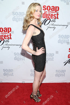 Jessica Morris arrives at the 40th Anniversary of Soap Opera Digest at The Argyle Hollywood, in Los Angeles