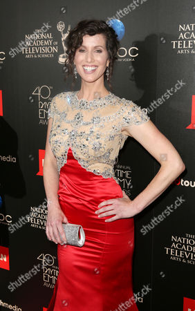 Heather Roop seen at The 40th Annual Daytime Emmy Awards Redtouch Red Carpet, on Sunday, June, 16, 2013 in Beverly Hills