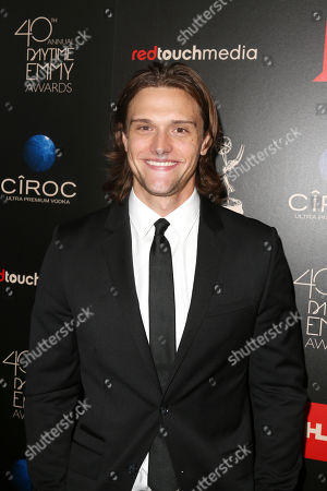 Hartley Sawyer seen at The 40th Annual Daytime Emmy Awards Redtouch Red Carpet, on Sunday, June, 16, 2013 in Beverly Hills