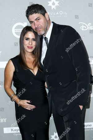 Soleil Moon Frye, left, and Jason Goldberg attend the 4th Annual Baby2Baby Gala held at 3Labs, in Culver City, Calif