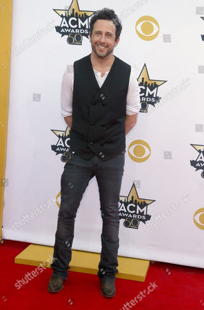 Will Hoge arrives at the 50th annual Academy of Country Music Awards at AT&T Stadium, in Arlington, Texas