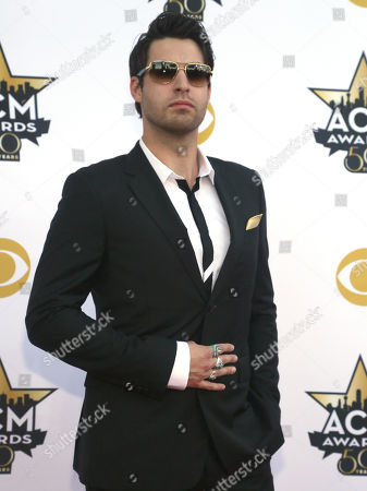 Stock Picture of Austin Webb arrives at the 50th annual Academy of Country Music Awards at AT&T Stadium, in Arlington, Texas