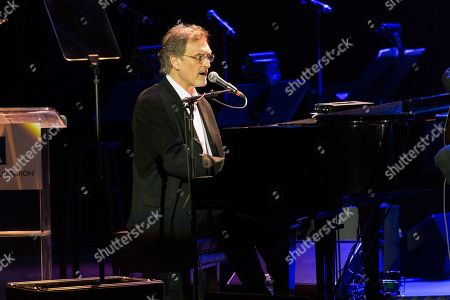 """Musician Mike Reid performson stage during the 16th Annual GRAMMY Foundation Legacy Concert """"A Song Is Born,"""" on in Los Angeles"""