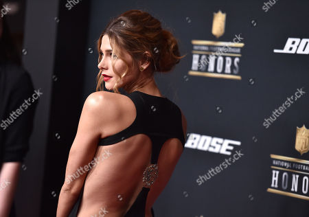 Ashley Greene arrives at the 5th annual NFL Honors at the Bill Graham Civic Auditorium, in San Francisco