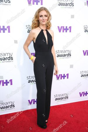 Editorial picture of 5th Annual Streamy Awards, Los Angeles, USA - 17 Sep 2015