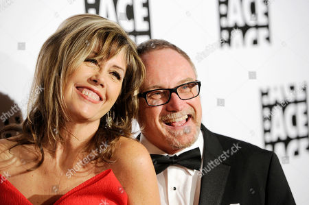 Kevin Tent, right, and Carol Tent arrive at the 64th Annual ACE Eddie Awards,, in Beverly Hills, Calif