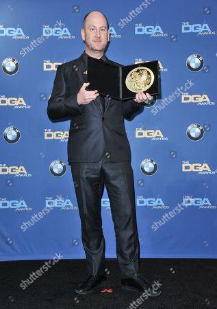 Martin de Thurah arrives at 66th Annual DGA Awards Dinner at the Hyatt Regency Century Plaza Hotel, in Los Angeles, Calif