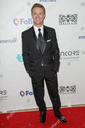Stock Photo of Michael Welch attends the 6th Annual Thirst Gala at The Beverly Hilton Hotel on in Beverly Hills, Calif