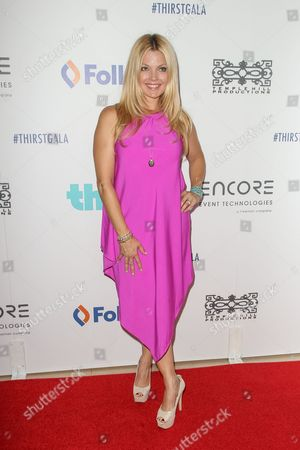 Clare Kramer attends the 6th Annual Thirst Gala at The Beverly Hilton Hotel on in Beverly Hills, Calif