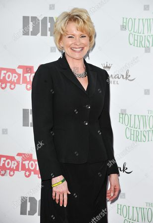Judi Evans arrives at the 82nd Annual Hollywood Christmas Parade, on Sunday, December, 1, 2013 in Los Angeles