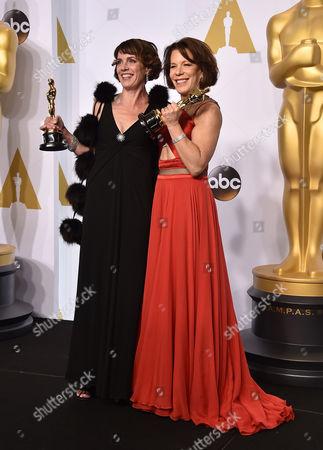 Editorial photo of 87th Academy Awards - Press Room, Los Angeles, USA - 22 Feb 2015