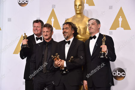 Editorial image of 87th Academy Awards - Press Room, Los Angeles, USA - 22 Feb 2015