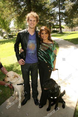Scott MacIntyre and Paula Abdul