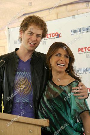 Paula Abdul and Scott MacIntyre