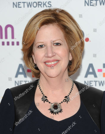 President and CEO of A&E Television Networks Abbe Raven attends the A+E Networks 2013 Upfront on in New York