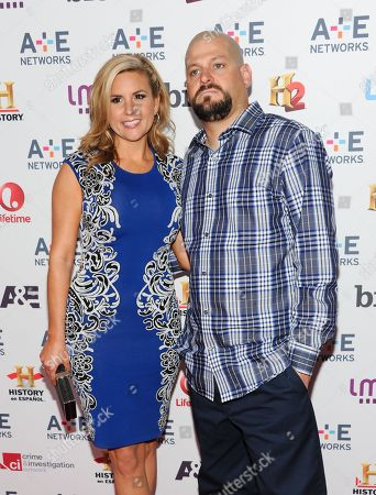 """Stock Image of Storage Wars"""" cast members Brandi Passante and Jarrod Schulz attend the A+E Networks 2013 Upfront on in New York"""