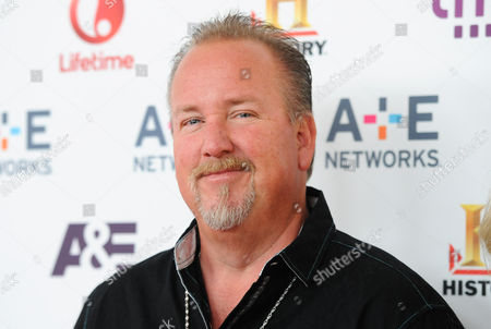 "Storage Wars"" cast member Darrell Sheets attends the A+E Networks 2013 Upfront on in New York"