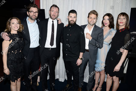 Producer Jodi Redmond, Producer Jay Van Hoy, Ralph Ineson, Writer/Director Robert Eggers, Cinematographer Jarin Blaschke, Anya Taylor-Joy and Kate Dickie seen at A24 'The Witch' Los Angeles Special Screening at ArcLight Hollywood, in Hollywood, CA
