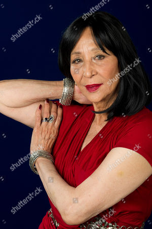 "Stock Image of Model China Machado featured in the documentary ""About Face: Supermodels Then and Now"" poses for a portrait on in New York"