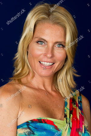 "Model Kim Alexis featured in the documentary ""About Face: Supermodels Then and Now"" poses for a portrait on in New York"
