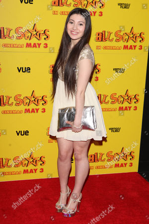 Hanae Atkins at the premiere of All Stars at the VUE West End in London on