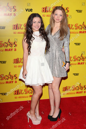 Fleur Houdijk, Amelia Clarkson at the premiere of All Stars at the VUE West End in London on