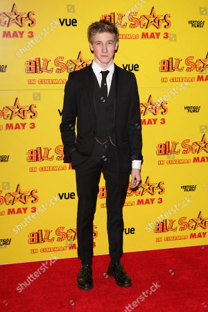 Dominic Herman Day at the premiere of All Stars at the VUE West End in London on