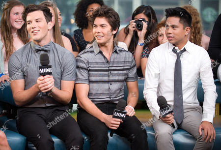 Editorial photo of Allstar Weekend Interview & Performance On New.Music.Live. - 27 Aug 2012