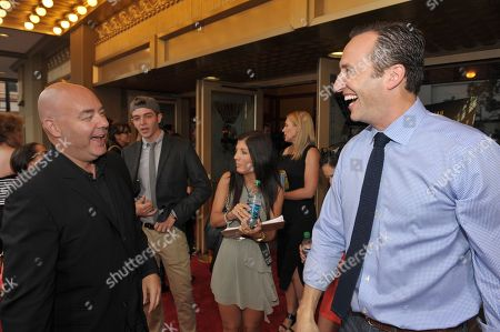 """AMC Head Of Original Programming, Joel Stillerman and AMC president Charlie Collier attend AMC's """"Breaking Bad"""" Premiere and After Party on in San Diego, CA"""