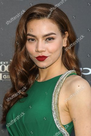 Editorial picture of America's Next Top Model Cycle 22 Premiere Party, Los Angeles, USA - 28 Jul 2015