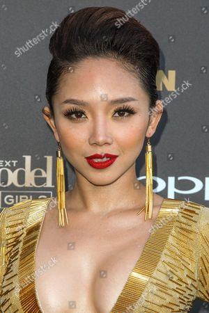 Toc Tien attends the 'America's Next Top Model' Cycle 22 Premiere Party at Greystone Manor on in Los Angeles