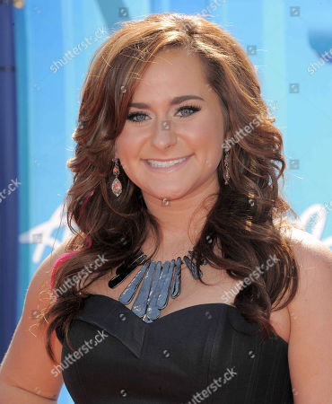 Skylar Laine arrives at the American Idol Finale on in Los Angeles