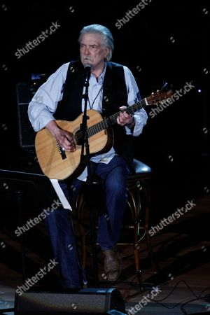 Guy Clark performs at the 11th annual Americana Honors & Awards, in Nashville