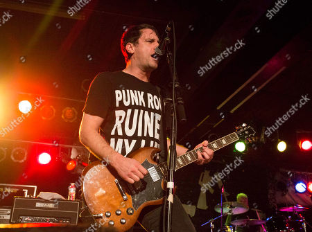 Stock Picture of Chris Head with Anti-Flag performs at the Masquerade, in Atlanta