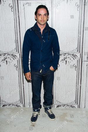 "Reece Ritchie participates in AOL's BUILD Speaker Series to discuss his new film ""Desert Dancer"" at AOL Studios, in New York"