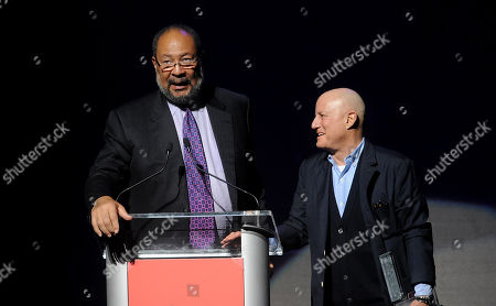 Richard Parsons, left, and Ronald Perelman attend the Apollo Theater Spring Gala and 80th Anniversary Celebration at the Apollo Theater on Monday, June, 10, 2014 in New York City