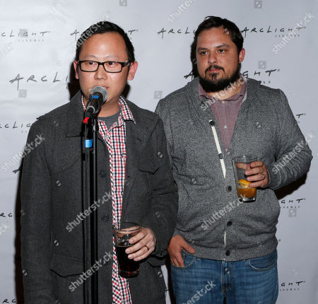 "Patrick Shen and Brandon Vedder from film ""La Source"" attend Arclight Cinemas' 2nd Annual Documentary Film Festival Awards at the Arclight Hollywood on in Hollywood, Calif"