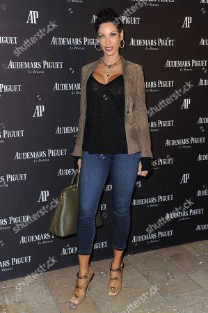 Model Nicole Mitchell Murphy attends Audemars Piguet Beverly Hills boutique opening, in Beverly Hills, Calif
