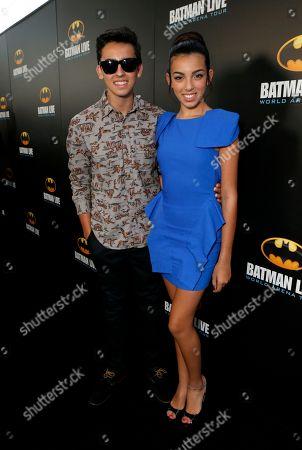 Editorial image of Batman Live Premiere, Los Angeles, USA - 27 Sep 2012
