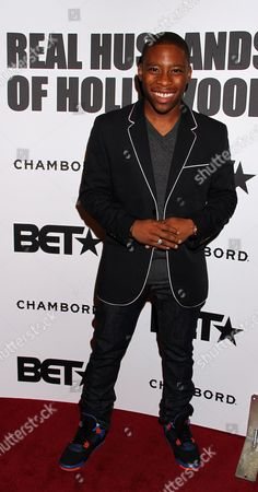 Actor Carlon Jeffery attends BET Real Husbands of Hollywood Wrap Party at SupperClub on Friday, Nov. 2nd, 2012, in Hollywood, California
