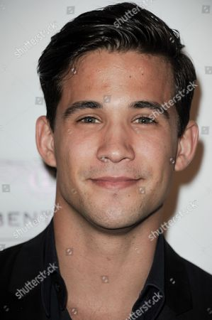 Stock Picture of Dez Duron arrives at the Beverly Hills Lifestyle Magazine's 5th Anniversary at the Riveria 31 Lounge on in Los Angeles
