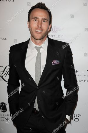 Doug McLaughlin arrives at the Beverly Hills Lifestyle Magazine's 5th Anniversary at the Riveria 31 Lounge on in Los Angeles