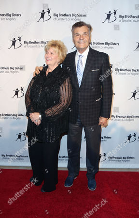 """Mary Willard, Fred Willard, seen at Big Brother Big Sister, 2014 """"Big Bash"""" at The Beverly Hilton Hotel, in Beverly Hills, CA"""