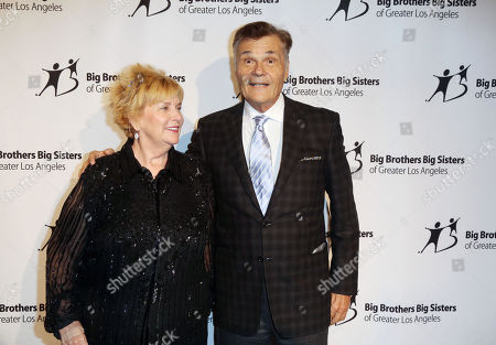 """Stock Photo of Mary Willard, Fred Willard, seen at Big Brother Big Sister, 2014 """"Big Bash"""" at The Beverly Hilton Hotel, in Beverly Hills, CA"""