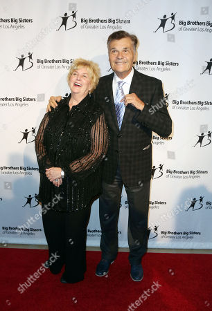 """Stock Picture of Mary Willard, Fred Willard, seen at Big Brother Big Sister, 2014 """"Big Bash"""" at The Beverly Hilton Hotel, in Beverly Hills, CA"""
